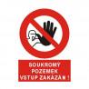 Tabulka - Soukromý pozemek, vstup zakázán!