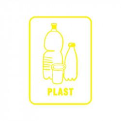 Samolepka plast