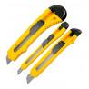 sada zalamovacích nožů (3ks) žluté