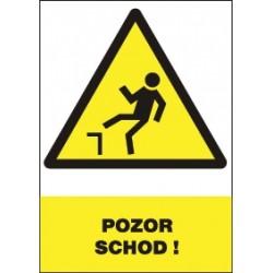Pozor schod!