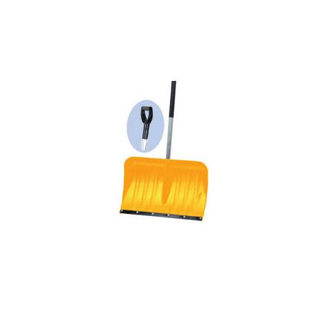 Hrablo žluté s gumovou lištou