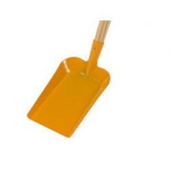 Dětská lopata žlutá s násadou