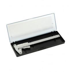 Měřítko posuvné (šupléra) 155mm s tlačítkem