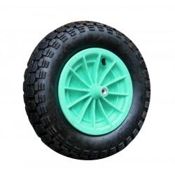 Kolo+pneu k zahr. kolečku - různé barvy