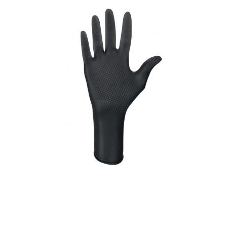 Jednorázové rukavice nitrilové s terčíky HM