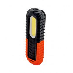 Svítilna LED 400/100 lm, 166 mm, dobíjecí s Li-Ion baterií