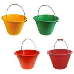 Kbelík zednický červený/žlutý/zelený