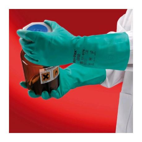 rukavice Sol-Vex zelené