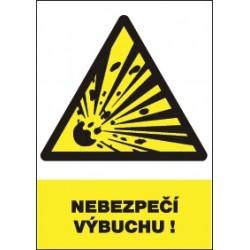 Nebezpečí výbuchu!