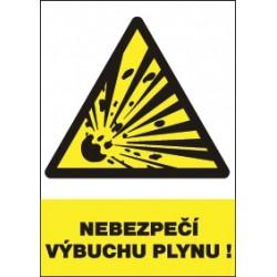 Nebezpečí výbuchu plynu!