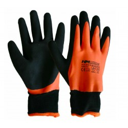Silničářské zimní rukavice HM